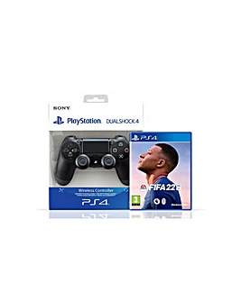 FIFA 22 PS4 and Dualshock Controller