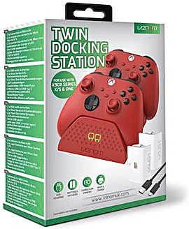Venom Xbox Series XS Twin Dock Red