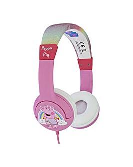 PEPPA PIG Rainbow Children's Headphone