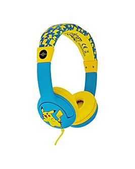 POKEMON Pikachu Children's Headphone