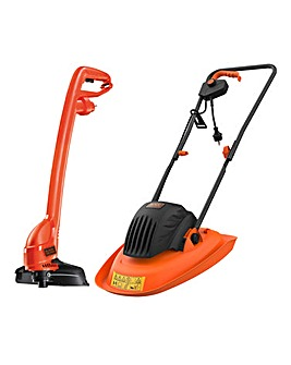 Black + Decker Corded Hover & trimmer