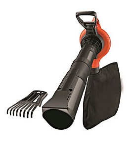 Black & Decker 3000W Blowervac with Rake