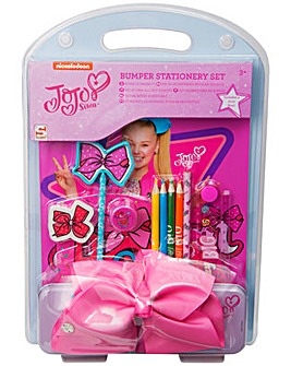 JoJo Bows Bumper Stationery Set with Bow