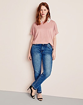 Violeta By Mango Embellished Sweater