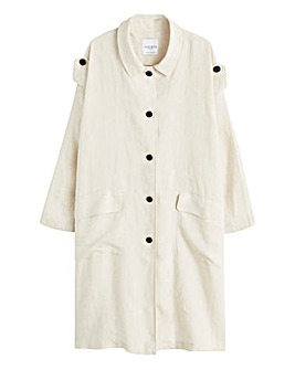 Violeta By Mango Trench Jacket