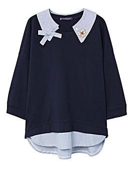 Violeta By Mango Collar Sweater