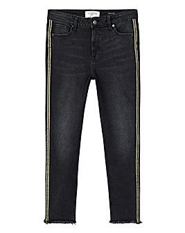 Violeta By Mango Side Stripe Jeans