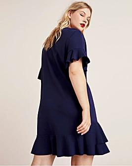 Violeta By Mango Ruffle Dress