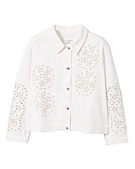 Violeta By Mango Embroidered Jacket