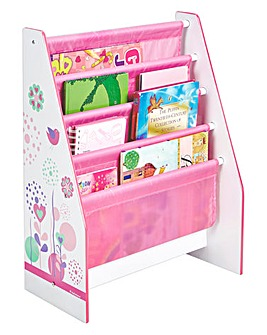 Flowers and Birdies Sling Bookcase