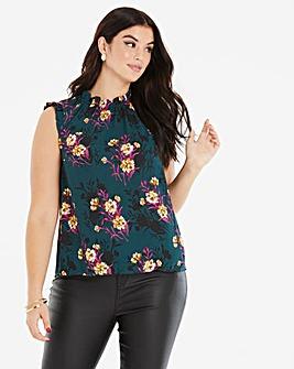 Oasis Curve Freida Floral Top