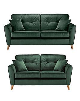 Enzo 3 plus 2 Seater Sofa