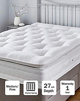 Airsprung Naturals 1000 Pocket Pillowtop Mattress