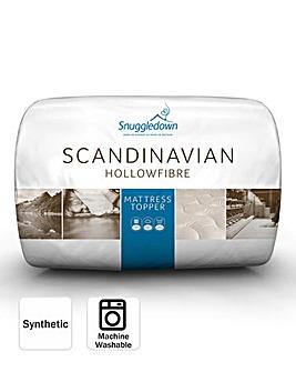 Snuggledown Scandinavian Hollowfibre Mattress Topper