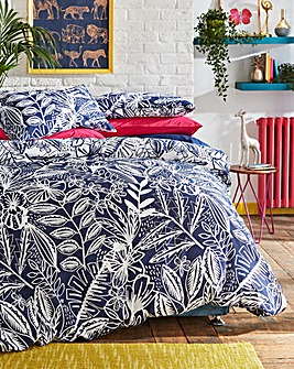 Plaza Navy Duvet Cover Set