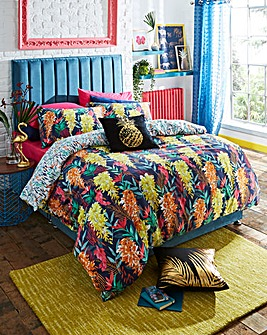 Valencia Cotton Digital Print Duvet Cover Set