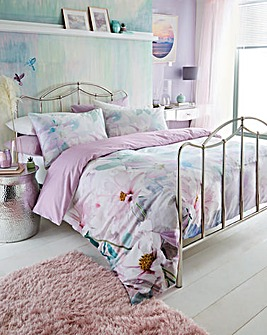 Viola Cotton Duvet Cover Set