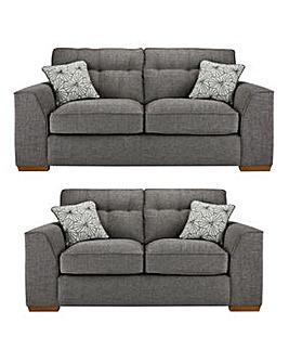 Alex 3 plus 2 Seater Sofa
