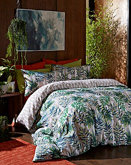 Palm Leaf Duvet Cover Set
