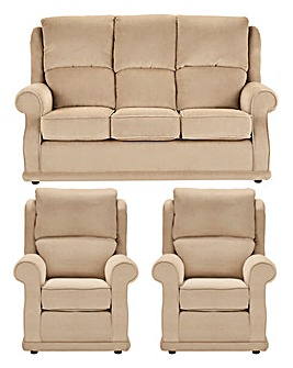 Charlton Three Seater plus Two Chairs