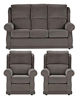 Charlton Three Seater plus Two Chairs