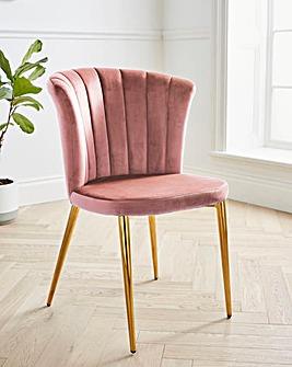 Clarice Velvet Chair