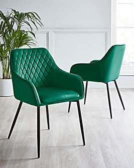 Pair of Morgan Arm Dining Chairs