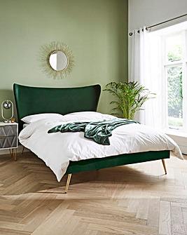 Markle Velvet Bed Frame
