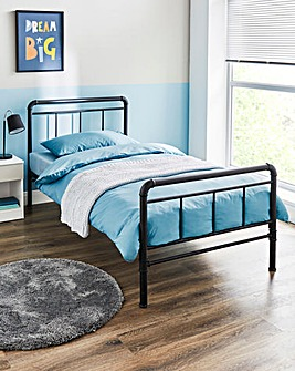 Bowen Industrial Metal Bed Frame