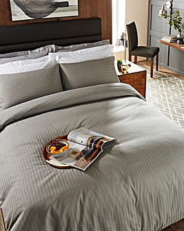 225 TC Charcoal Duvet Cover Set