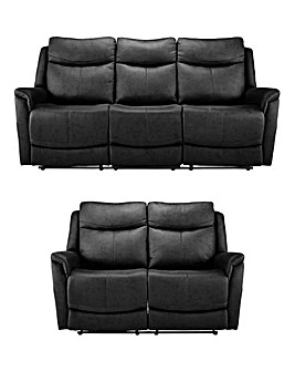 Nevada 3 plus 2 Seater Recliner Sofa