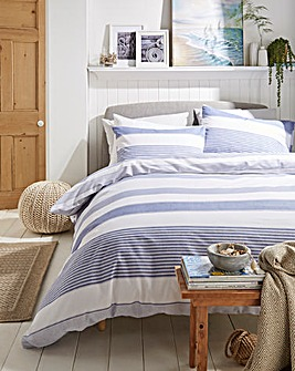 Newquay Stripe Duvet Cover Set