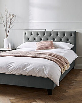 Freya Bed with Quilted Mattress