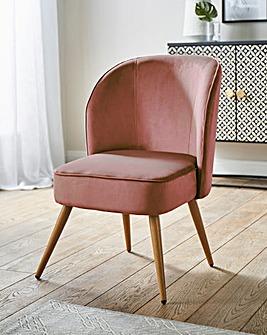 Avery Velvet Accent Chair