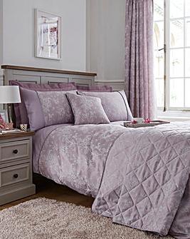Jasmine Lavender Duvet Cover Set