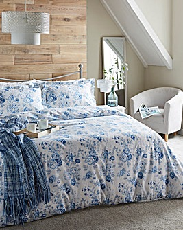 Grace Blue Duvet Cover Set