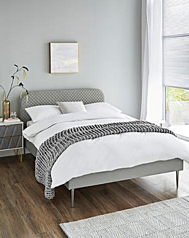 Arden Quilted Bed Frame