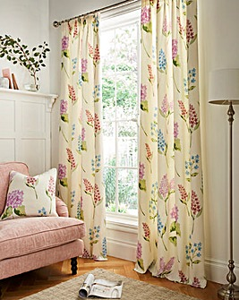Firenze Lined Pencil Pleat Curtains