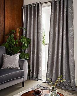 Elmwood Eyelet Lined Curtains