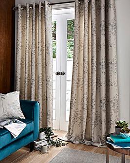 Elmwood Eyelet Lined Curtains