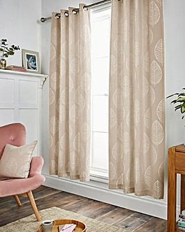 Helsinki Eyelet Lined Curtains