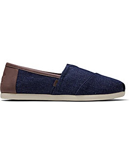 Toms Alpargata Dark Denim Trim