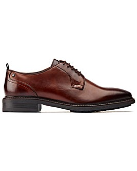 Base London Boston Plain Toe Derby Shoe