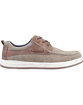 Hush Puppies Aiden Lace Up Boat Shoe