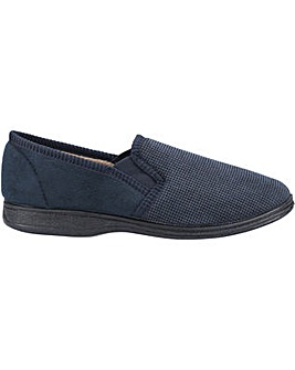 Fleet & Foster Tim Twin Gusset Slipper