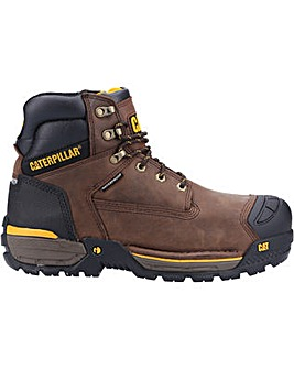 Caterpillar Excavator Lace Up Safety Hiker