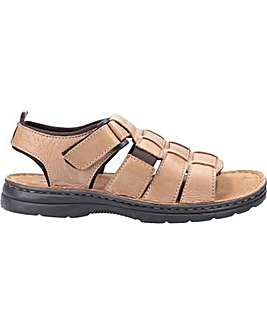 Hush Puppies Spectrum Fisherman Touch Fastening Sandal