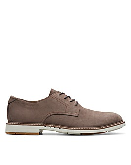 Clarks Unstructured Un Elott Lace Standard Fitting Shoes