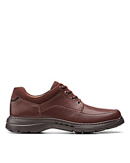 Clarks Unstructured Un BrawleyLace Wide Fitting Shoes