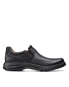 Clarks Unstructured Un BrawleyStep Wide Fitting Shoes